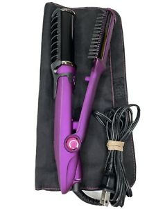 InStyler Milana Hot Brush Curling Iron Model IS1001 Purple