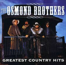 Greatest Country Hits - Osmond Brothers (2003, CD NEUF) CD-R