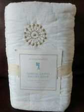 Pottery Barn Kids Isabelle Castle Quilted Pillow Sham Euro Size New Sold Out