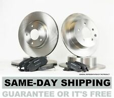 Front & Rear Brake Rotors and Ceramic Pads fits 2005 2006 2007 2008 CHEVY COBALT