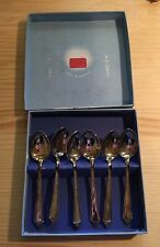 VINTAGE CUTLERY CANTEEN AFTERNOON TEA SET RODD TEASPOONS SPOONS EPNS SILVER