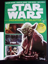 Polish Magazine STAR WARS No 9 Jedi YODA on front cover + Big Poster + Stickers!