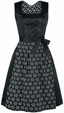 Hedi's Dirndl Goth Pentagram Oktoberfest Wicka Dress Size M