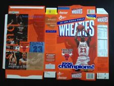 1996 Chicago Bulls Unfolded Wheaties Box, Michael Jordan pictured