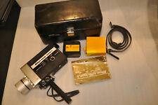 Nikon Super Zoom-8 Movie Camera Leather Case, Accessrs, 1 Film, Limited Testing