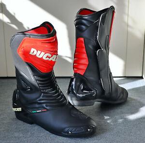 Original DUCATI Racing Stiefel Sport 2, Motorradstiefel TCX, Gr.45