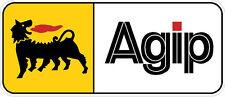 "#617 (1) 3.5"" Agip Vintage superbike sponsor decal racebike race vinyl LAMINATED"