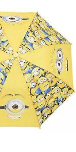 Despicable Me Minions Kids Umbrella with Figure Handle