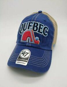 Quebec Nordiques NHL Hockey snapback 47 Brand clean up Adjustable Cap Hat new