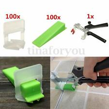 Tile Leveling System Kits - Wedges + Clips + Free Pliers Tiling Flooring Tools
