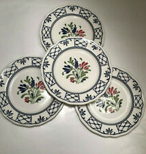 """Johnson  Brothers Bros. Provincial 7"""" Dessert or Bread & Butter Plates Set of 4"""