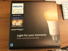 Philips Hue Ambiance E26 Starter Kit - White