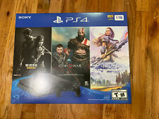 SONY PLAYSTATION 4 1TB CONSOLE PS4 BUNDLE 3 GAMES INCLUDED