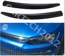 VW Scirocco 2008+ Eyebrows, ABS PLASTIC, TUNING