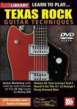Learn to Play... Texas Rock Guitar Techniques, DVD, Over 2 Hours of Lessons (T)