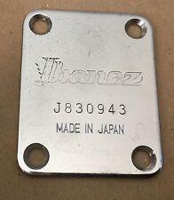 1983 Ibanez RS335 Roadstar II Electric Guitar Original Neck Plate Made in Japan