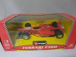 Burago Ferrari F300 Michael Schumacher 1998 1/24 con scatola