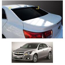 Smoke Roof Rear Visor Wing Spoiler Molding for Chevrolet Malibu 2011-2015