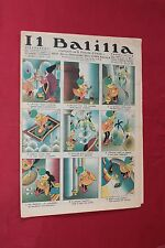 rivista a fumetti IL BALILLA Supplemento Popolo d'Italia ANNO XIII N.15 (1935)