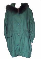 Manteau vintage années 80 GUY LAROCHE Fourrure, col lapin taille 40