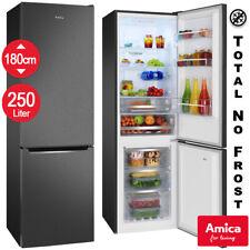 Amica Kühl-Gefrierkombination No Frost Freistehend schwarz NEU Stand Kühlschrank