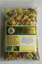 POT POURRI 15g Natural Dried Flowers NO ADDITIVES Craft Wax Incense Christmas