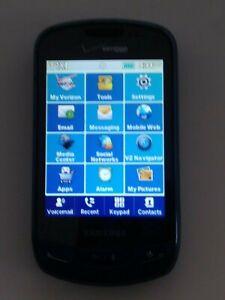 Samsung Brightside SCH-U380 Blue-Verizon-Slider Cell Phone w/Usb Cord -FREE SHIP