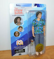 "THE BRADY BUNCH GREG Action Figure Doll MOC 8"" Mego 2018 Retro TV Toy"
