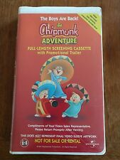 The Chipmunk Adventure - Home Video Screening Version - DEMO TAPE