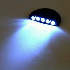 5 LED Ball Cap Clip-On Light w/ Batteries Camping Hiking Night Walking