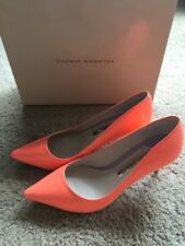 NIB Sophia Webster Coral patent leather Pump size 36.5 brand new in box