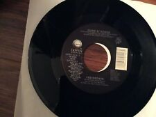Guns N' Roses- Yesterdays lp and live in Las Vegas version Unplayed 45 rpm