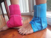 Pair of Quality IPW Ankle Braces  Free Postage and Same Day Shipping OZ SELLER
