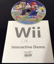 Nintendo Wii Interacive Demo Mario Party 9 NFR Not For Resale in Original Sleeve