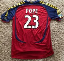 Game Used Soccer Jersey Worn By Eddie Pope MLS