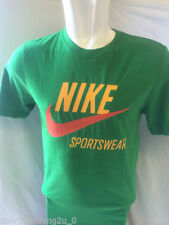 Nike Cotton Blend Crew Neck Fitted T-Shirts for Men