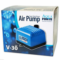 AQUAFORTE AIR PUMP V30 - Luftpumpe Sauerstoffpume Membranpumpe Teich Aquarium