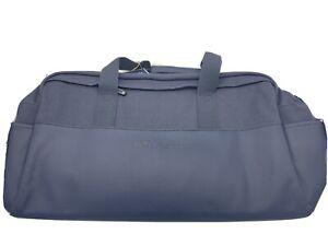 NWT Peter Millar Men's Crown Sport Seal Navy Duffle Bag AS19EA100