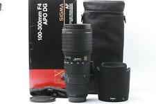 firmware UPDATE SIGMA 100-300mm D F/ 4 APO DG HSM EX IF NIKON JAPAN 200899