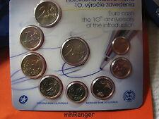 Eslovaquia 2012 kms St bu hgh - 10 años euro-dinero en efectivo - 5,88 € con 2 € moneda especial