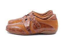 SEMLER Fashion Sneaker Gr. 37,5 UK 4,5 Braun Leder Wildleder Damen Schuhe