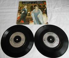 "MISPRESSED Freddie Mercury Montserrat Caballe Barcelona 7"" 1987 Original 1st NM"