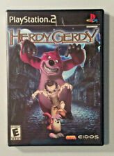 Herdy Gerdy (PS2) PlayStation 2 - manual, case and game disc