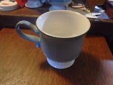 Denby Langley Castile Cup Mug Blue  Footed No Saucer