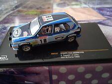 New ListingMiniature car ixo 1/43 citroen visa chrono no. 18 tour de corse 1983