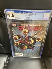 CGC 9.6 MILES MORALES AMAZING SPIDER-MAN #6 MARVEL 2019 1ST STARLING *2ND PRINT*
