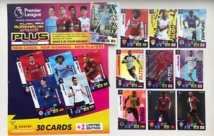 25% OFF SIGNINGS/SQUAD/PAIRS 2020/21 ADRENALYN XL 'PLUS' PANINI PREMIER LEAGUE
