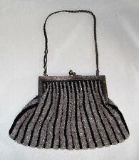 New listing Beautiful Rare Old Antique Drape Micro Beaded Purse Bag