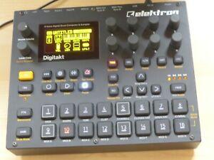 ELEKTRON DIGITAKT  Sequencer I Sampler I Drum Machine I Groovebox I MIDI