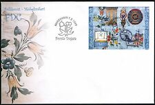 Finland, Aland FDC 1999, Folk Art, Furniture Painting